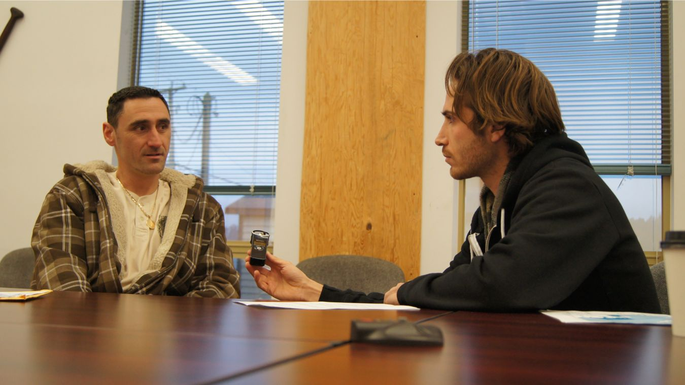 Joel interviews Tsawwassen First Nation member Steven Stark